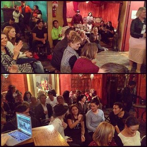 Full house last night at the Niche Wellness Event!