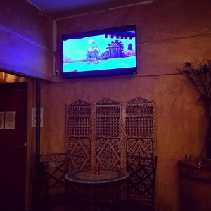 Morocco Lounge has a brand new much much bigger LED Full HD flat screen TV!!! for #50""